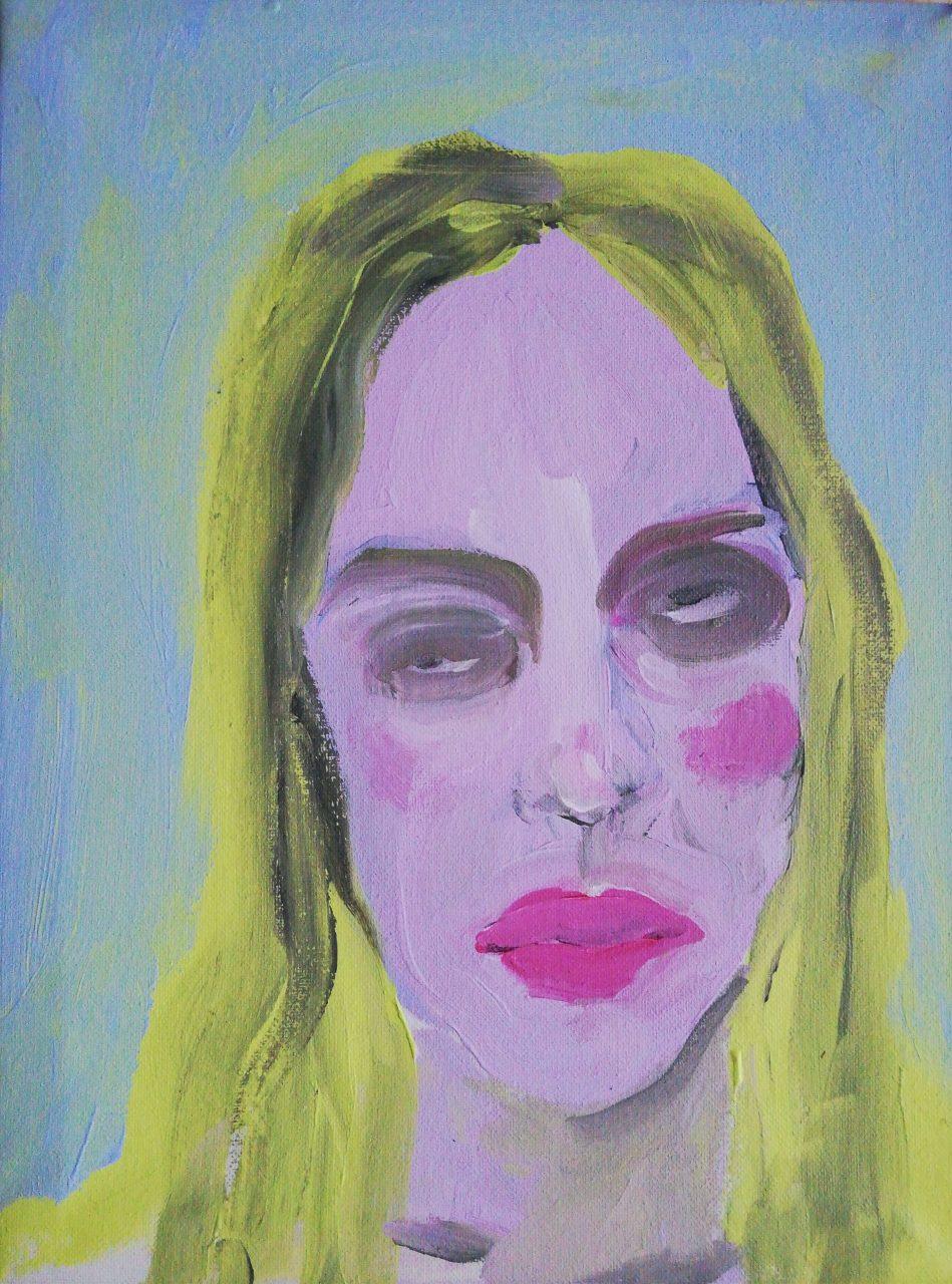 JOURNEY 30 x 40 cm, acrylic on canvas, 2019.